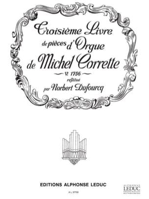 Livre D'orgue N°3 Volume 1 laflutedepan