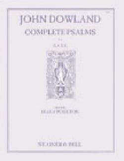 Complete Psalms DOWLAND Partition Chœur - laflutedepan