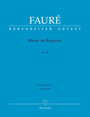 Requiem FAURÉ Partition Chœur - laflutedepan