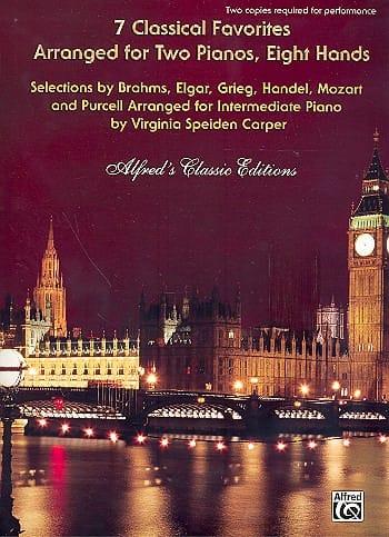 7 Classical Favorites. 2 Pianos 8 Mains - laflutedepan.com