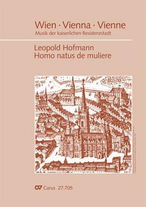 Homo natus de muliere - Leopold Hofmann - Partition - laflutedepan.com