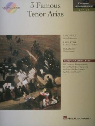 3 Famous Tenor Arias Partition Opéras - laflutedepan