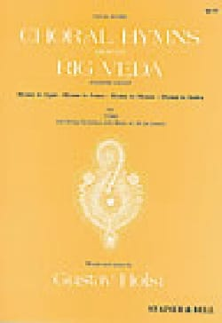 Choral Hymns From The Rig Veda. 4° Groupe HOLST Partition laflutedepan