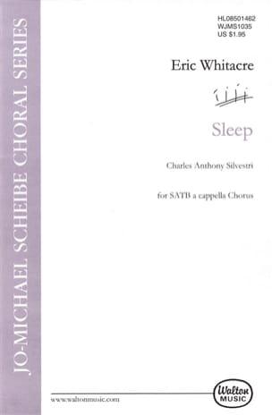 Sleep Eric Whitacre Partition Chœur - laflutedepan
