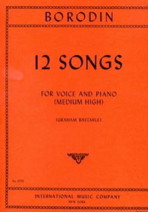 12 Songs. Voix Haute - BORODINE - Partition - laflutedepan.com