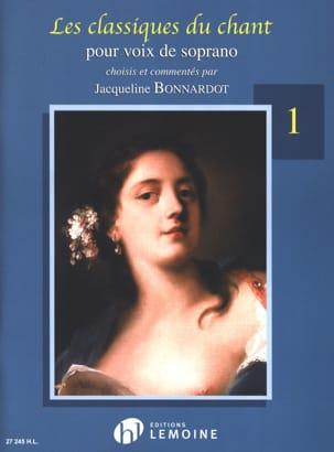 Les Classiques du Chant Volume 1. Soprano Partition laflutedepan