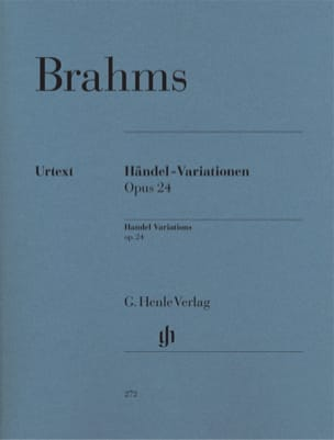 Variations et Fugue sur un Thème de Haendel Opus 24 laflutedepan