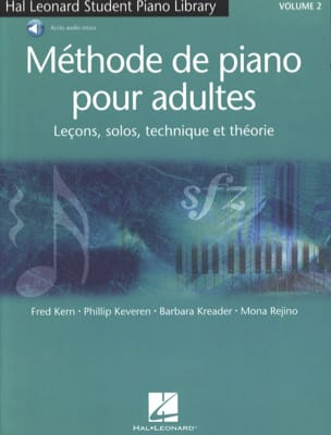 Methode de Piano pour Adultes Volume 2 laflutedepan