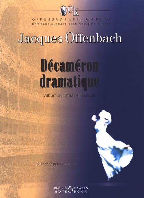 Décaméron Dramatique - OFFENBACH - Partition - laflutedepan.com