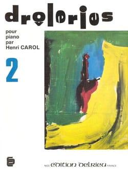 Drôleries Volume 2 - Henri Carol - Partition - laflutedepan.com
