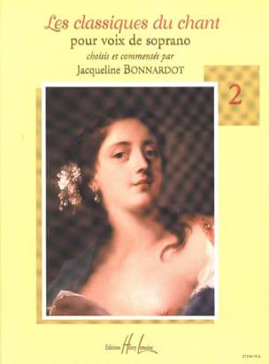 Les Classiques Du Chant Volume 2. Soprano Partition laflutedepan