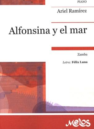 Alfonsina y el Mar Ariel Ramirez Partition Piano - laflutedepan