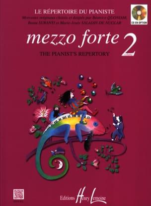 Mezzo Forte Volume 2 - Partition - Piano - laflutedepan.be
