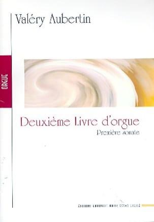 2ème Livre D'orgue. 1ère Sonate Valéry Aubertin Partition laflutedepan