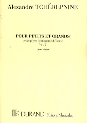 Pour Petits et Grands Volume 2 Alexandr Tcherepnine laflutedepan