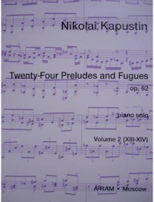 24 Préludes et Fugues Op. 82 Volume 2 - laflutedepan.com