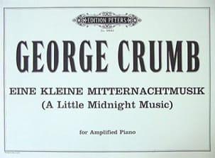 Eine Kleine Mitternachtmusik George Crumb Partition laflutedepan
