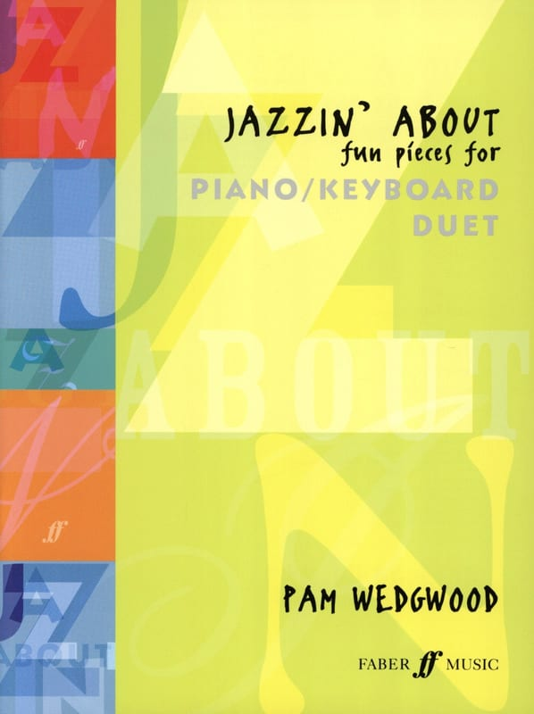 Jazzin'about. - Pamela Wedgwood - Partition - laflutedepan.com