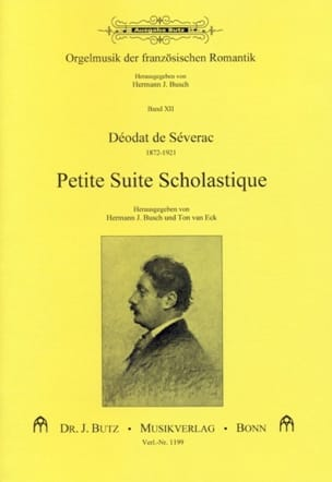 Petite Suite Scholastique Déodat de Séverac Partition laflutedepan