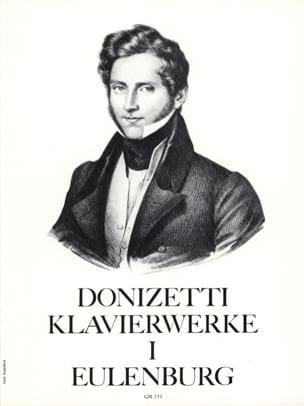 Klavierwerke Volume 1 DONIZETTI Partition Piano - laflutedepan