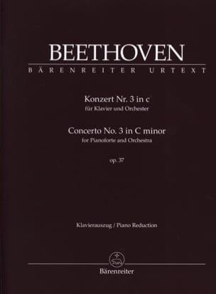Concerto Pour Piano n° 3 op. 37 En Do mineur BEETHOVEN laflutedepan