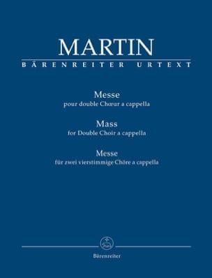 Messe Frank Martin Partition Chœur - laflutedepan