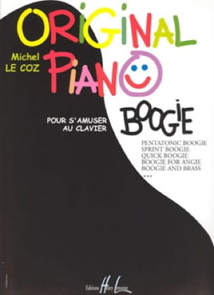 Original Piano Boogie - Michel LE COZ - Partition - laflutedepan.com