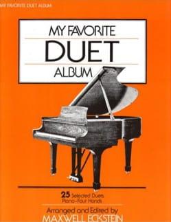 My Favorite Duet Album Partition Piano - laflutedepan