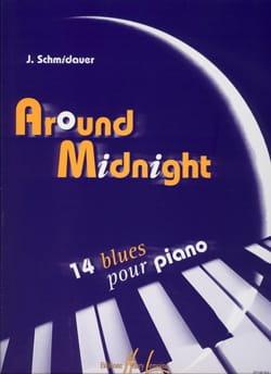 Around Midnight Schmidauer Partition Piano - laflutedepan