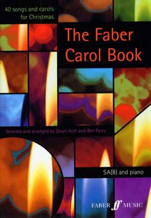 The Faber Carol Book Partition Chœur - laflutedepan