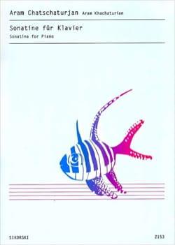 Sonatine Pour Piano KHATCHATURIAN Partition Piano - laflutedepan