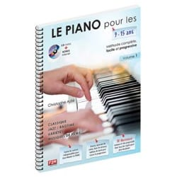 ASTIE Christophe - The Piano for 9 - 15 years old. Volume 1 - Partition - di-arezzo.co.uk
