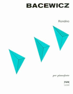 Rondino Grazyna Bacewicz Partition Piano - laflutedepan