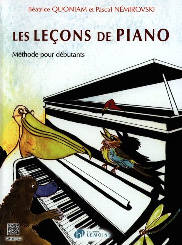 Les Leçons de Piano - QUONIAM - NEMIROVSKI - laflutedepan.com