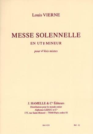 Messe Solennelle en Ut dièse Mineur Op 16. Choeur seul laflutedepan