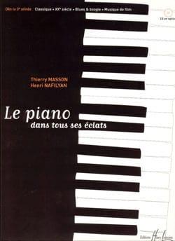 Le Piano dans tous ses éclats MASSON - NAFILYAN Partition laflutedepan