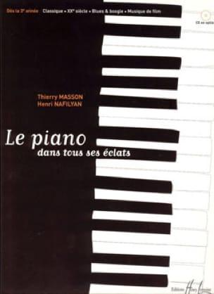 Le Piano dans tous ses éclats - MASSON - NAFILYAN - laflutedepan.com