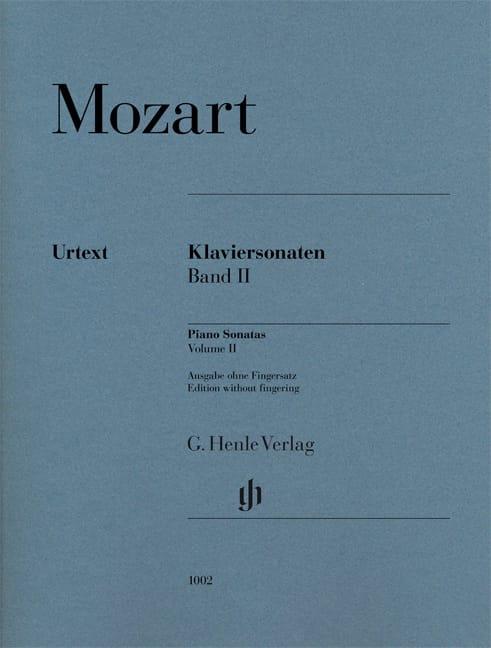 Sonates pour piano Volume 2 - MOZART - Partition - laflutedepan.com