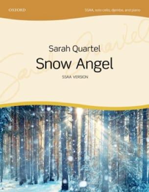 Snow Angel. SSAA - Sarah Quartel - Partition - laflutedepan.com