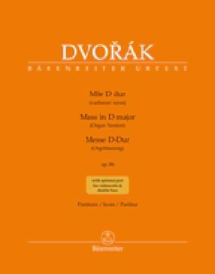 Messe en Ré Majeur Opus 86 - Version Choeur Orgue - laflutedepan.com