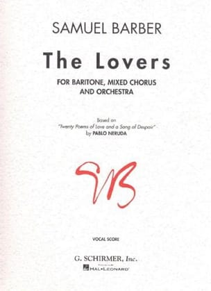 Samuel Barber - The Lovers - Partition - di-arezzo.fr
