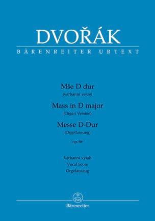 Messe en Ré majeur Opus 86 - Version Choeur et orgue - laflutedepan.com