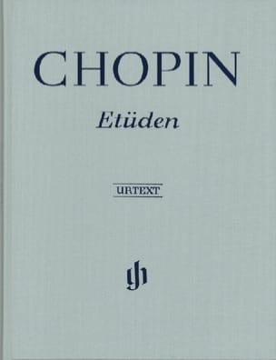 Etudes. Relié CHOPIN Partition Piano - laflutedepan