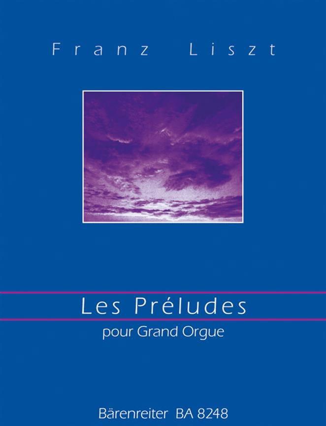 Les Préludes. Orgue - LISZT - Partition - Orgue - laflutedepan.com
