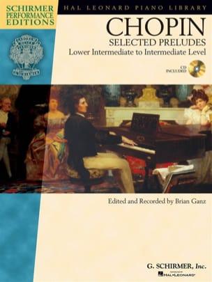 Selected Preludes CHOPIN Partition Piano - laflutedepan