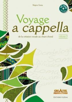 Voyage A Cappella Volume 2 Régine Gesta Livre laflutedepan