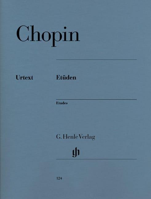 Etudes - CHOPIN - Partition - Piano - laflutedepan.com