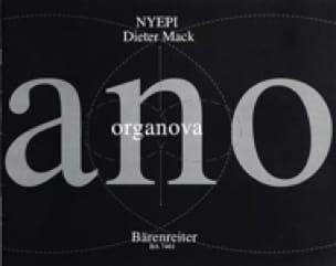 Nyepi - Dieter Mack - Partition - Orgue - laflutedepan.com