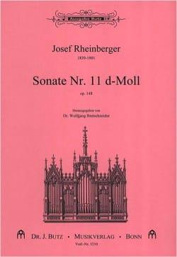 Sonate N° 11 Op. 148 RHEINBERGER Partition Orgue - laflutedepan