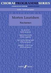 Nocturnes Morten Lauridsen Partition Chœur - laflutedepan
